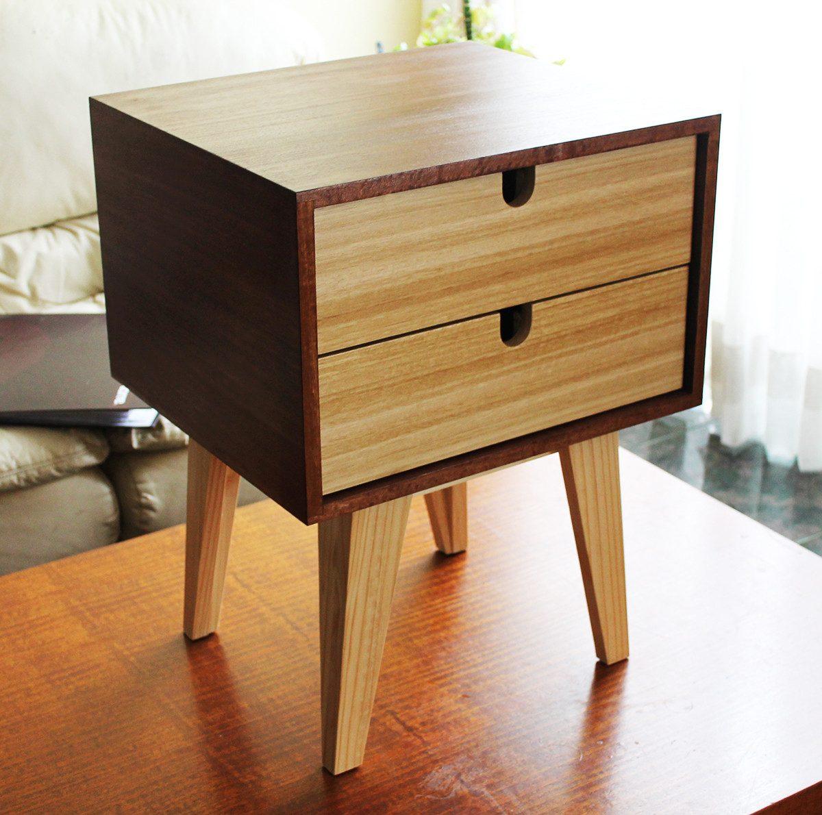 Velador retro est ndar mueble ebacam en mercado libre - Comprar muebles vintage baratos ...