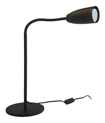velador texturado negro flexible escritorio mesa cuotas