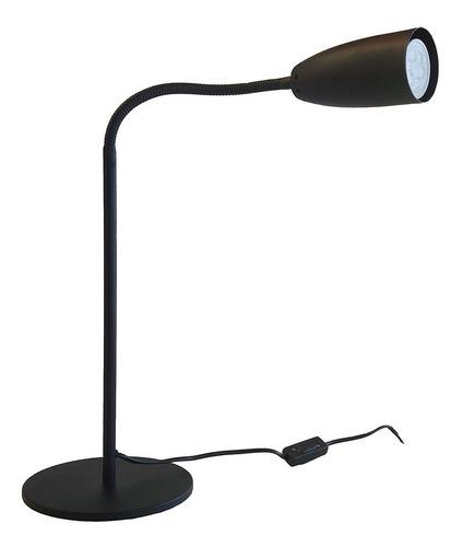 velador texturizado negro flexible escritorio mesa oficina