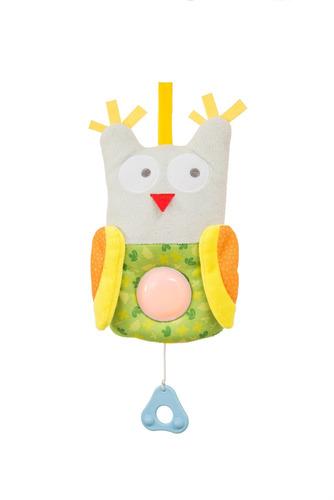 veladora peluche buho para bebes taf toys con luz extraible