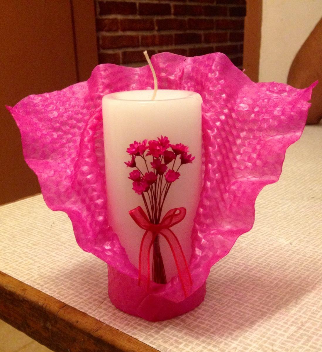 Como Adornar Velas Decoracion De Chimeneas Navideas Perfecto - Como-decorar-una-vela