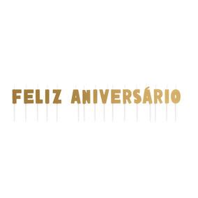 ee5da2a626163 Velas De Aniversario De Letras E Numeros  valor Unidade - Decoração ...