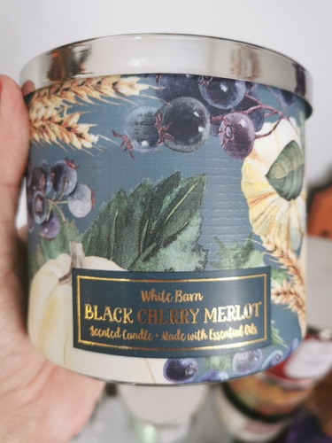 velas aromaticas bath and body works tamaño grande 3 mechas