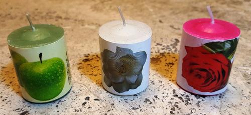 velas aromáticas cilíndricas - gran stock