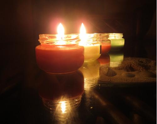 velas aromáticas de alta calidad luz y aroma tamaño 4 oz
