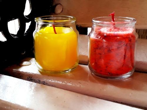 velas aromatizadas a mano decorativas. regalo recuerdo