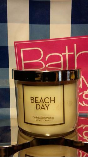 velas bath & body works + regalo