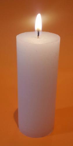 velas cil blancas 4 x 10 cm pack 10 unid - tincaví velas