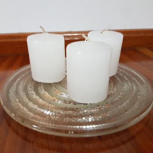 velas cilindricas de 3,5cm x 5cm ideal eventos souvenir