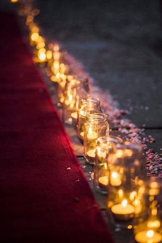 velas con luz led blanca calida intermit c/pilas (re barato)