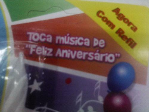 velas de cumpleaños musicales