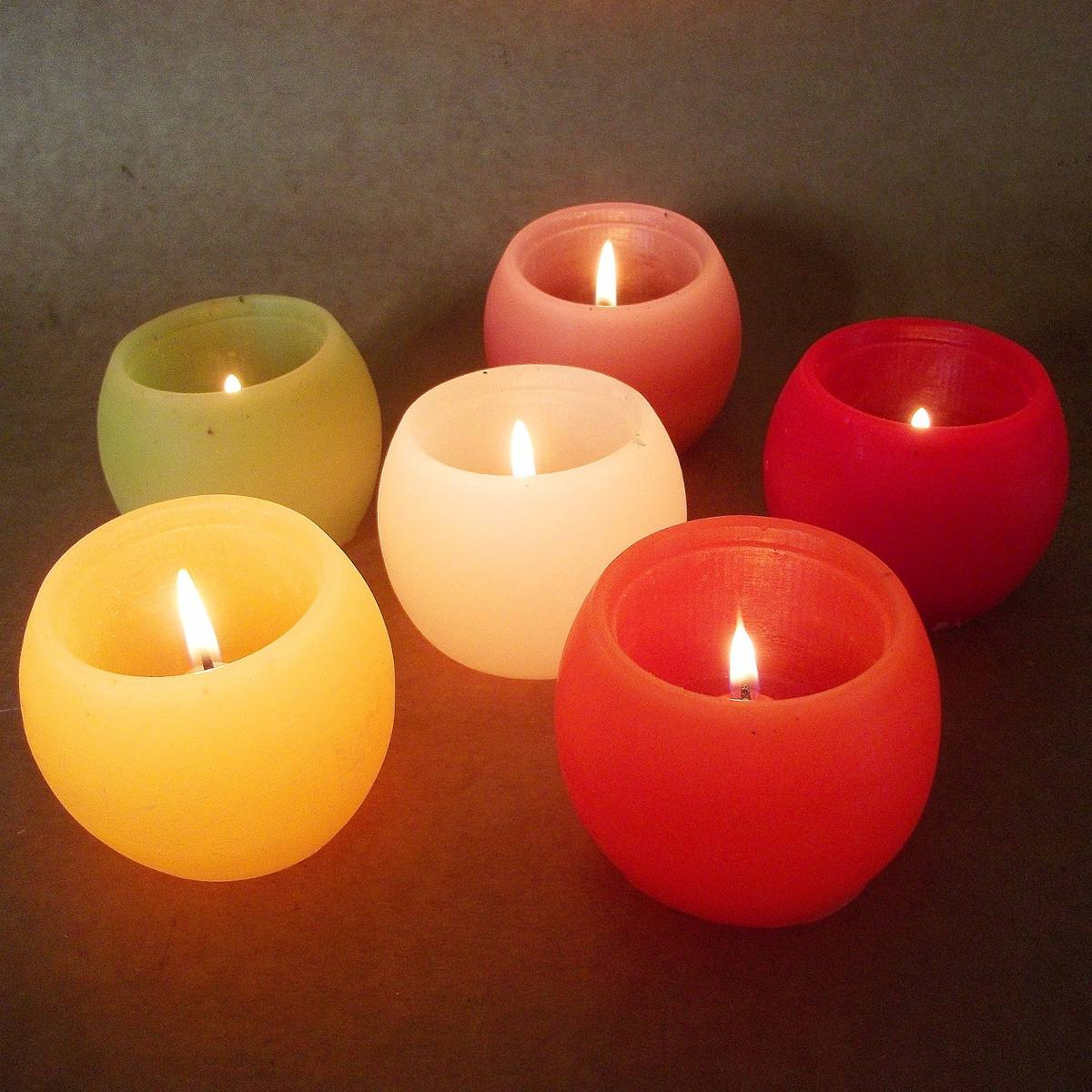 Velas decorativas kit com 5 mini luminarias r 55 90 - Velas decorativas ...