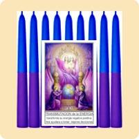velas esotéricas novenas santos, colores y aromas