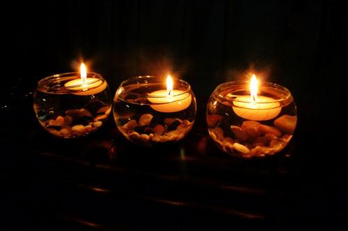 velas flotantes 10 piezas. aluzza