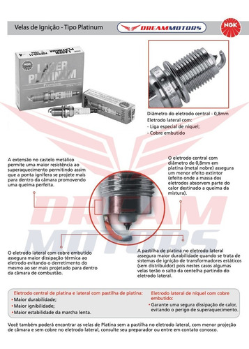 velas laser iridium ngk cr9eia-9 z1000 zx10r zx14 zx6 versys