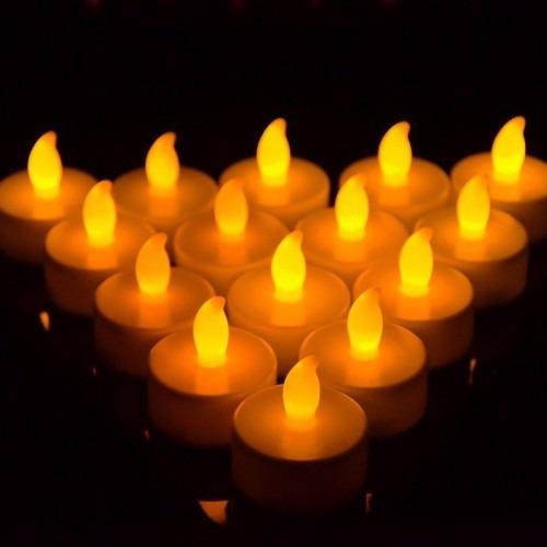 velas led con luz natural 10 unidades x $ 235