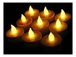 velas led de 7 colores cambia de color / decoración, fiestas