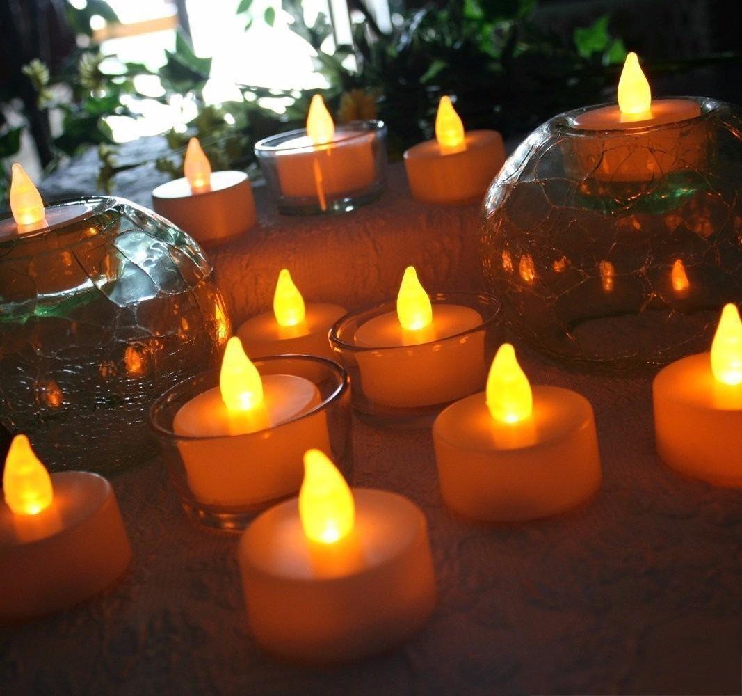kit c 96 velas de led decorativas luz amarela atacado r 279 90 em mercado livre. Black Bedroom Furniture Sets. Home Design Ideas