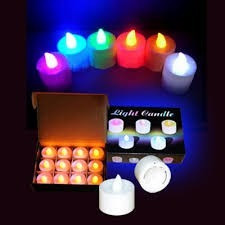 velas led ultra brillantes ideal para cenas fiestas eventos