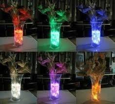 velas luces led sumergibles impermeable centro mesa piscina