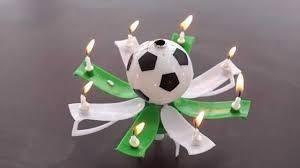 velas musicales en forma de pelota
