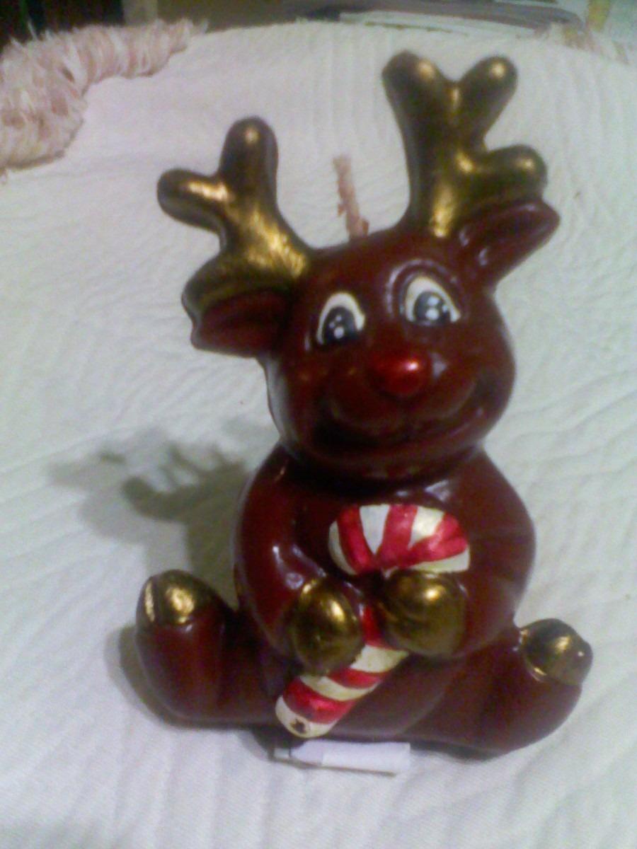 Velas navide as mu eco de nieve renos esferas y pinos en mercado libre for Velas navidenas