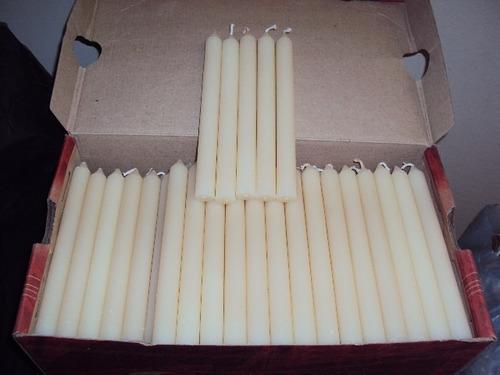 velas palito branca 500 velas=r$150,00