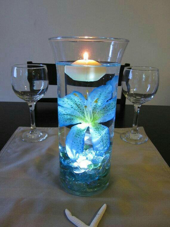 Velas para agua led blanca sumergible en mercado libre - Velas de agua ...