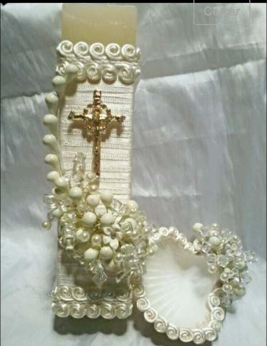 Velas para bautizo en mercado libre - Velas decoradas para bautizo ...