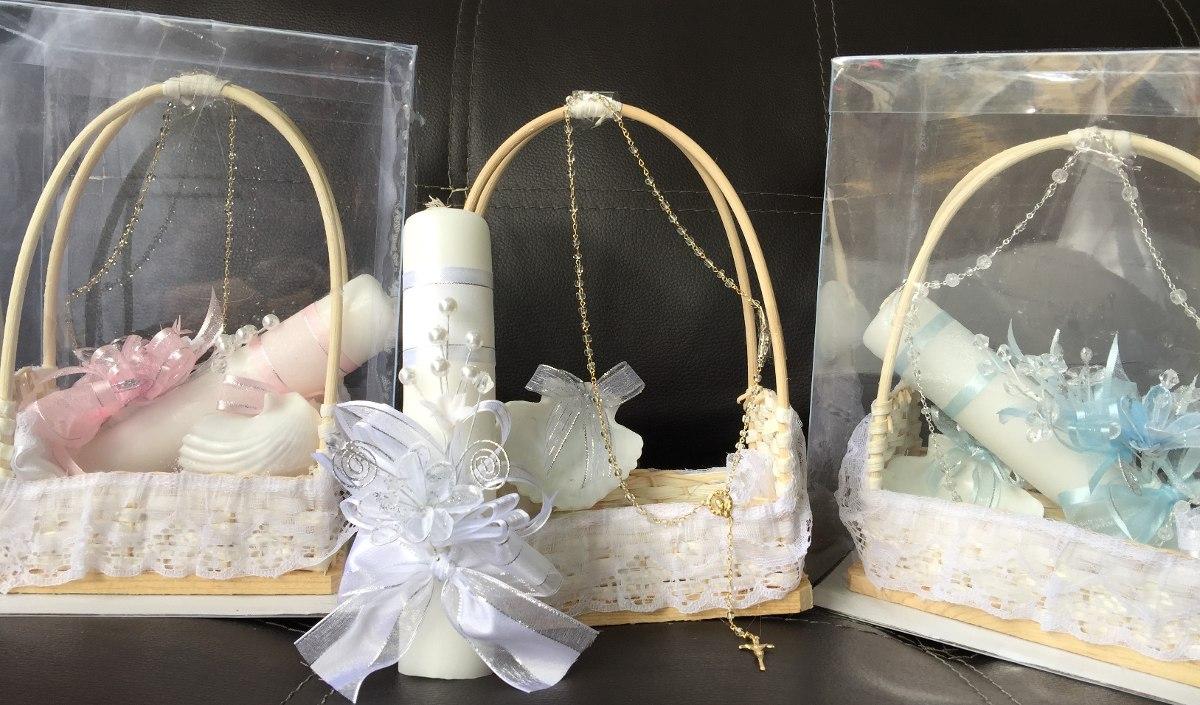 Velas para bautizo velas para primera comunion 130 - Como decorar una comunion ...