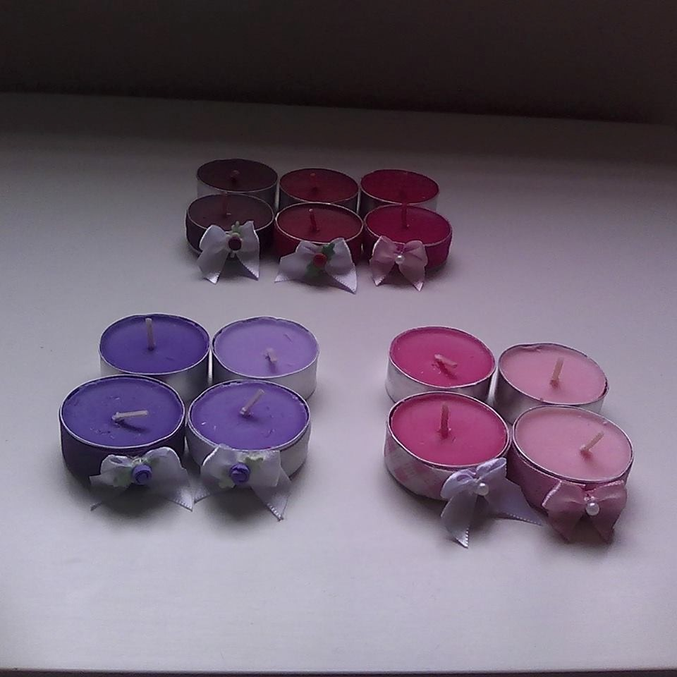 Velas perfumadas para lembrancinhas 20 pe as r 52 99 em mercado livre - Velas perfumadas ...
