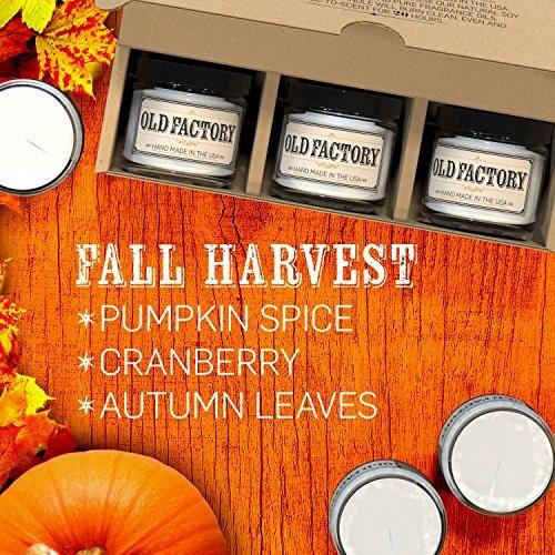 velas perfumadas,velas perfumadas - cosecha de otoño - j..