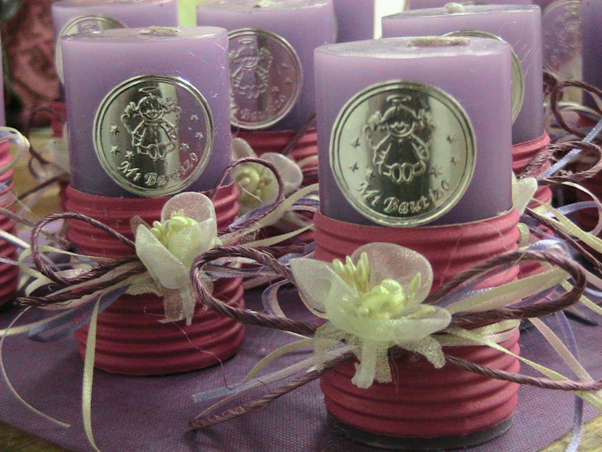 Velas personalizadas para bautizo en mercado libre - Decoracion de velas para bautizo ...