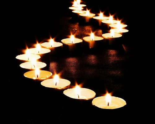 velas tea light 50 pzas blancas flotantes boda xv decoración