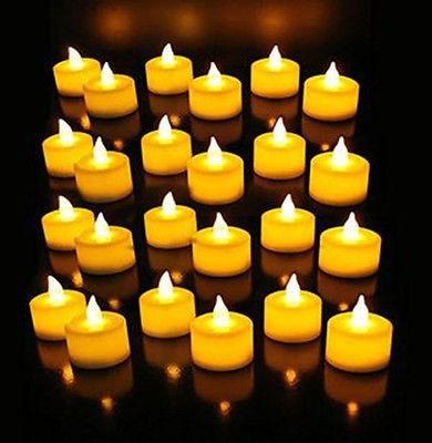velas velitas led ambar efecto fuego real de llama c/pilas