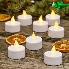 velas velitas led blanca calida pila incluida !decoracion !