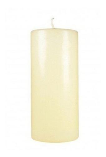 velas velones blanco 6 x 15 cm souvenir deco