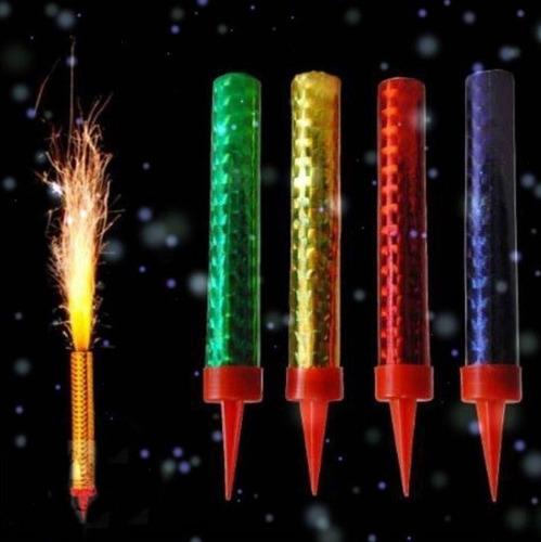 velas volcan magicas fiesta fuego bengala fugaz