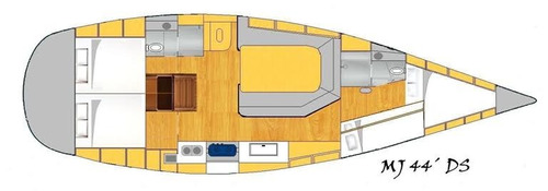 veleiro bruce farr 44 mj 44 ds