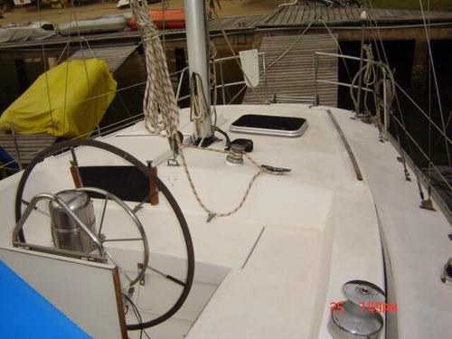 veleiro velamar 45 ketch mercedes gerador e ar condicionado