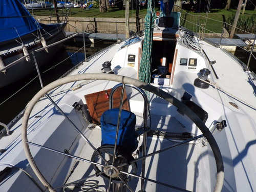 velero 35 pies super 11 diseño schröder año 94 motor volvo