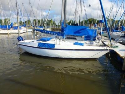 velero alpha 25 motor fuera de borda