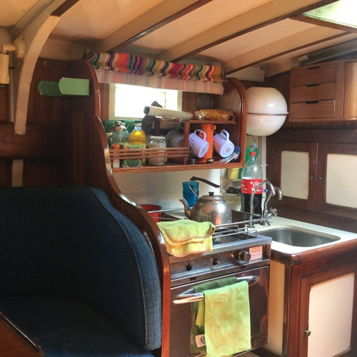 velero clásico madera