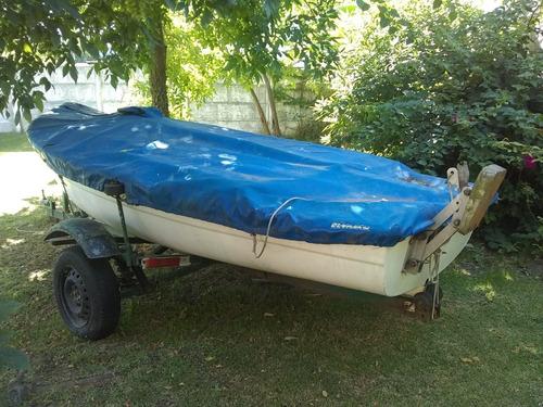 velero completo pampero con trailer rutero