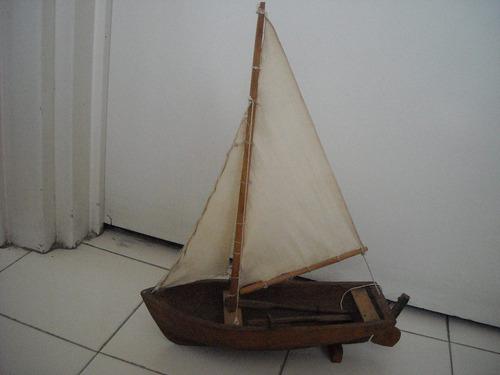 velero de madera