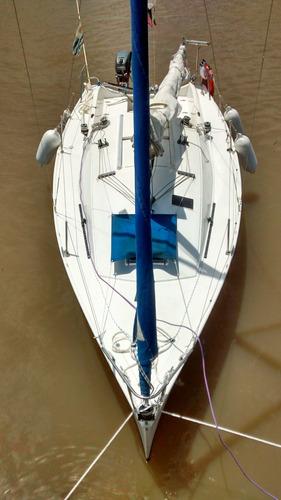 velero del plata 21 2010 con yamaha 15hp