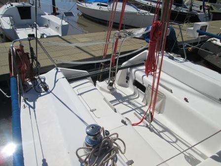 velero fayd 31 con motor volvo 30 hp (2012)