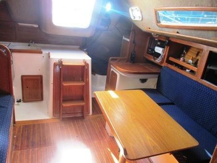 velero fayd 31 con motor volvo 30 hp (2016)