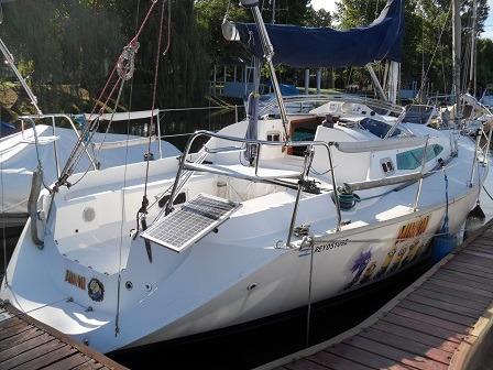 velero lef 30 con motor vetus 16 hp diesel