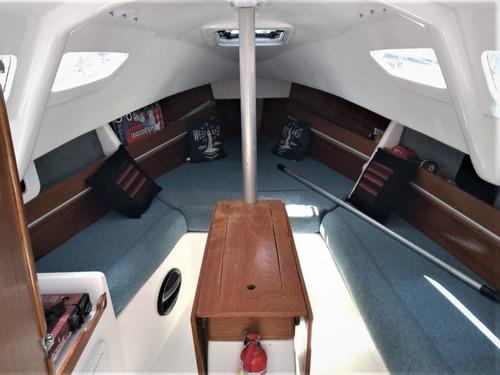 velero magic 23 con orza calado variable